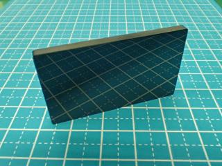 黒アルミナ(ブラックアルミナ)の鏡面仕上げRa0.1