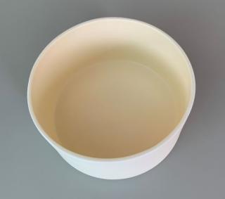 特注品 アルミナ焼成容器99.5% φ200×100H 丸サヤ